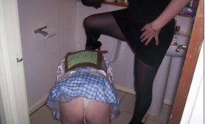 sissy abused