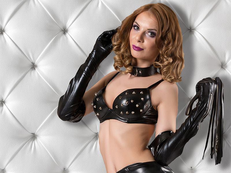 Cruel tranny Mistress