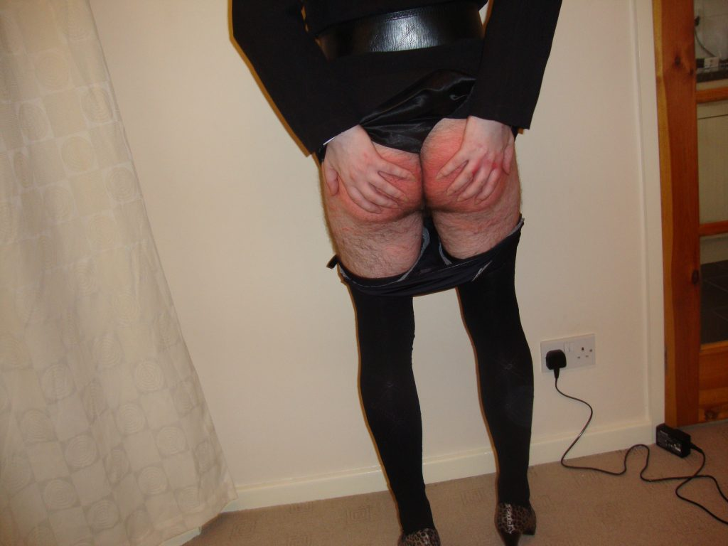 sissy spanked