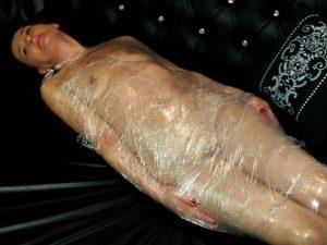 bondage mummification