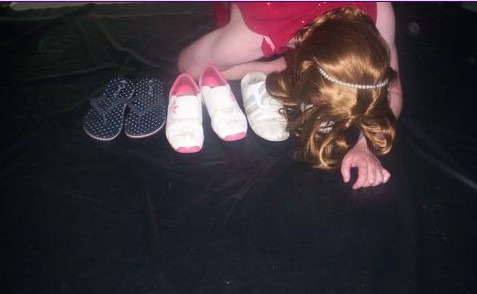 sissy shoe cleaner